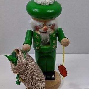 Steinbach Chubby Nutcracker IRISH SANTA HANDMADE